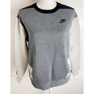 Nike • Grey Black Cream Crewneck Sweatshirt